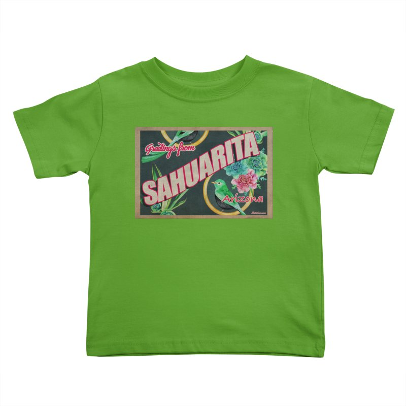 Sahuarita, AZ Kids Toddler T-Shirt by Nuttshaw Studios