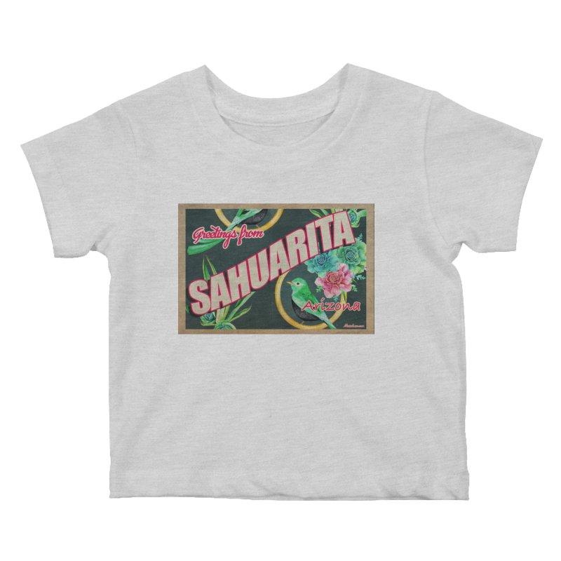 Sahuarita, AZ Kids Baby T-Shirt by Nuttshaw Studios