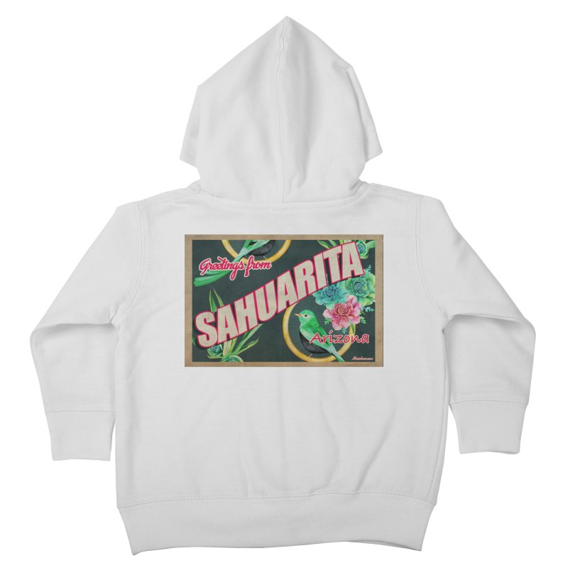 Sahuarita, AZ Kids Toddler Zip-Up Hoody by Nuttshaw Studios