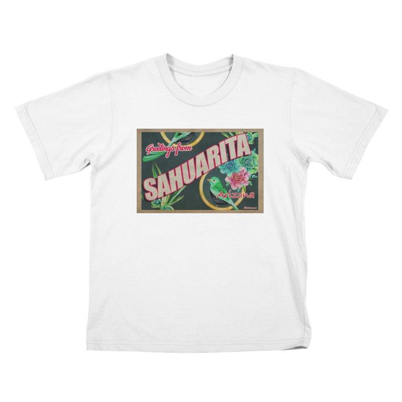 Sahuarita, AZ Kids T-Shirt by Nuttshaw Studios