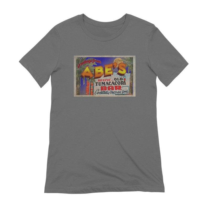 Abe's Old Tumacacori Bar Women's Extra Soft T-Shirt by Nuttshaw Studios