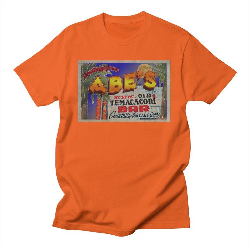 Abe's Old Tumacacori Bar Men's T-Shirt by Nuttshaw Studios
