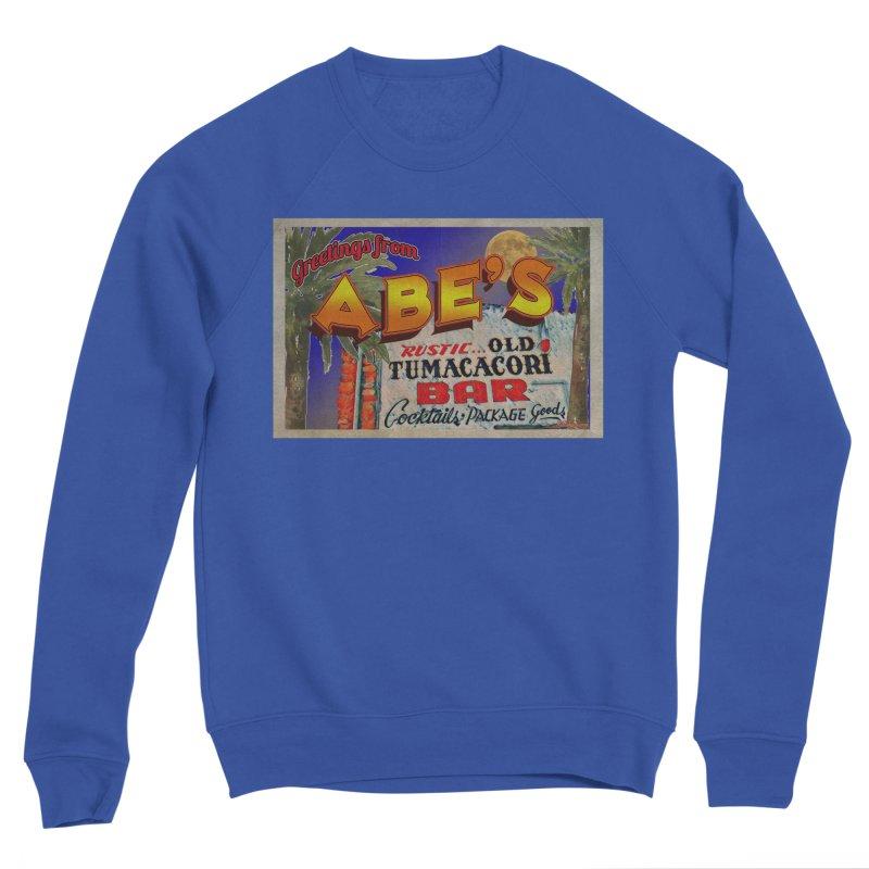 Abe's Old Tumacacori Bar Women's Sponge Fleece Sweatshirt by Nuttshaw Studios