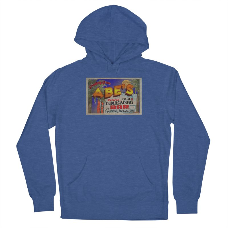 Abe's Old Tumacacori Bar Men's Pullover Hoody by Nuttshaw Studios