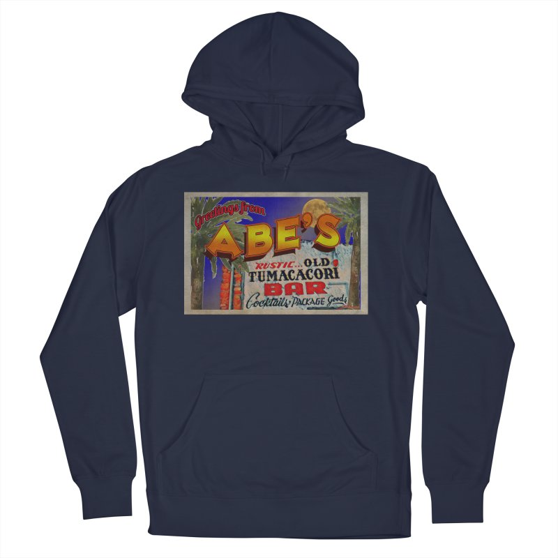 Abe's Old Tumacacori Bar Women's French Terry Pullover Hoody by Nuttshaw Studios
