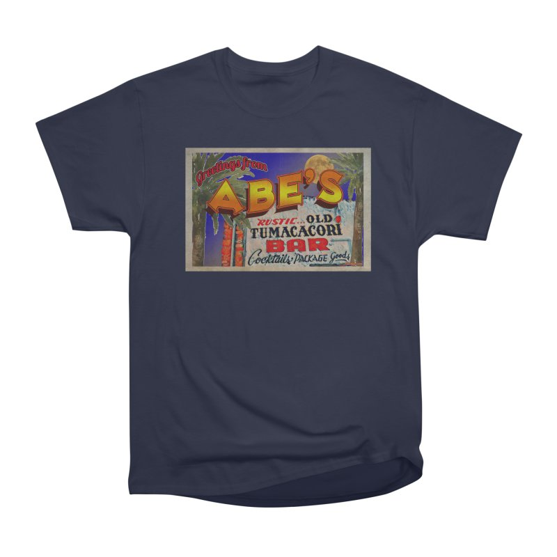 Abe's Old Tumacacori Bar Women's Heavyweight Unisex T-Shirt by Nuttshaw Studios