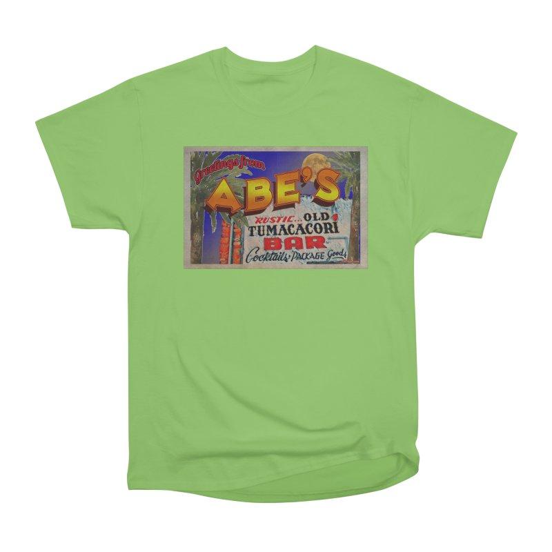 Abe's Old Tumacacori Bar Women's Heavyweight Unisex T-Shirt by Nuttshaw Studios