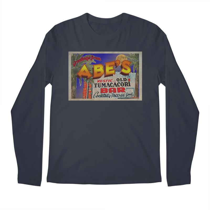Abe's Old Tumacacori Bar Men's Longsleeve T-Shirt by Nuttshaw Studios