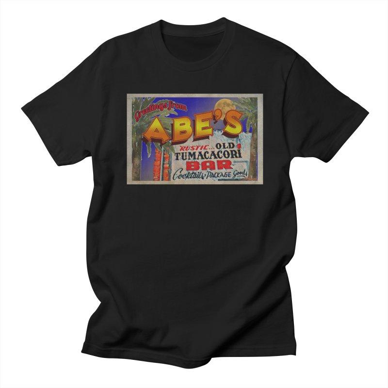 Abe's Old Tumacacori Bar Men's Regular T-Shirt by Nuttshaw Studios