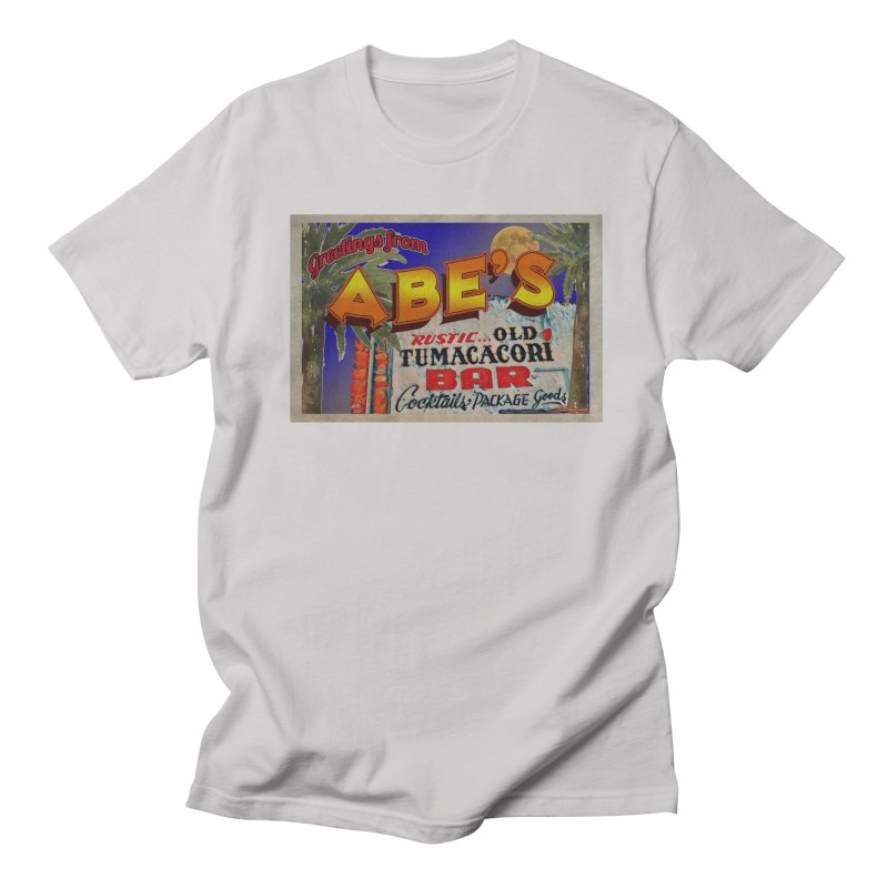 Abe's Old Tumacacori Bar Women's Regular Unisex T-Shirt by Nuttshaw Studios