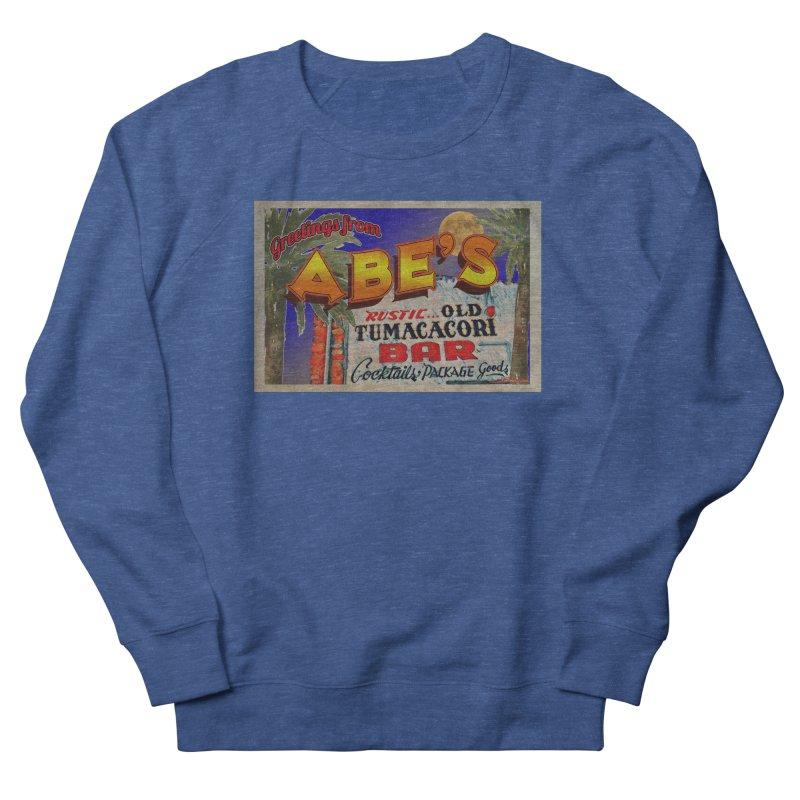Abe's Old Tumacacori Bar Men's Sweatshirt by Nuttshaw Studios