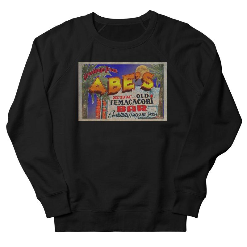 Abe's Old Tumacacori Bar Men's French Terry Sweatshirt by Nuttshaw Studios