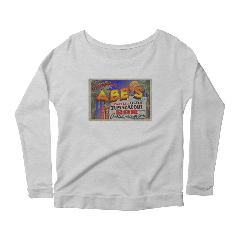 Abe's Old Tumacacori Bar Women's Longsleeve T-Shirt by Nuttshaw Studios