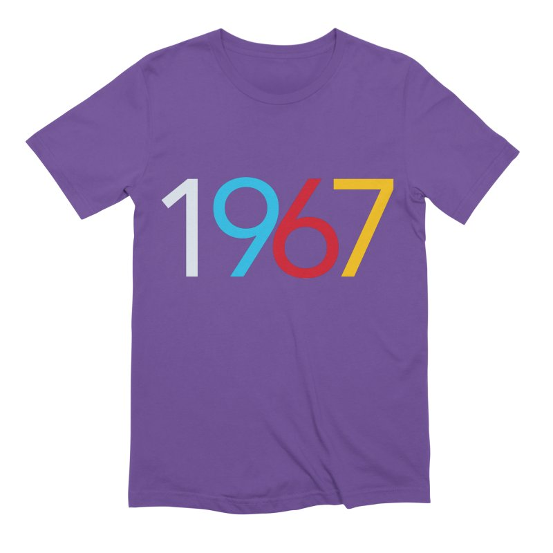1967 Men's Extra Soft T-Shirt by Nuttshaw Studios