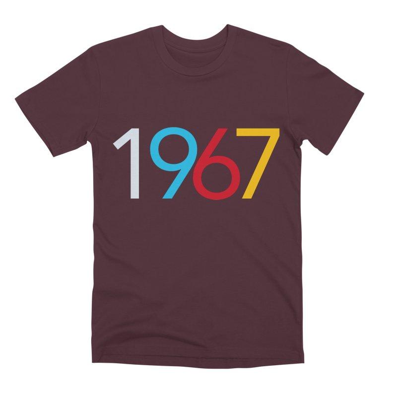 1967 Men's Premium T-Shirt by Nuttshaw Studios