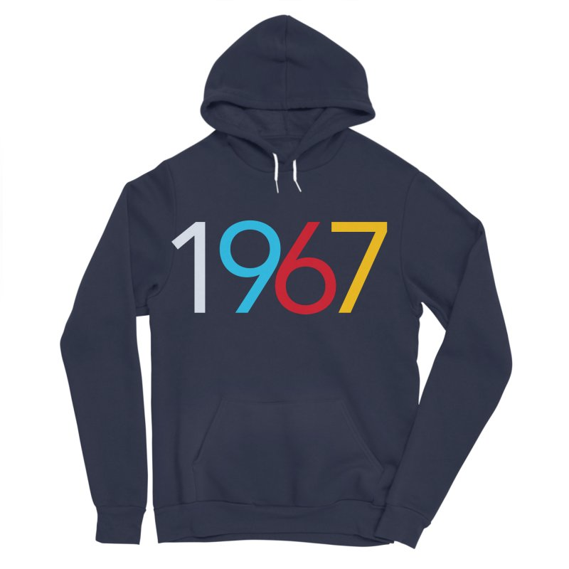 1967 Men's Sponge Fleece Pullover Hoody by Nuttshaw Studios