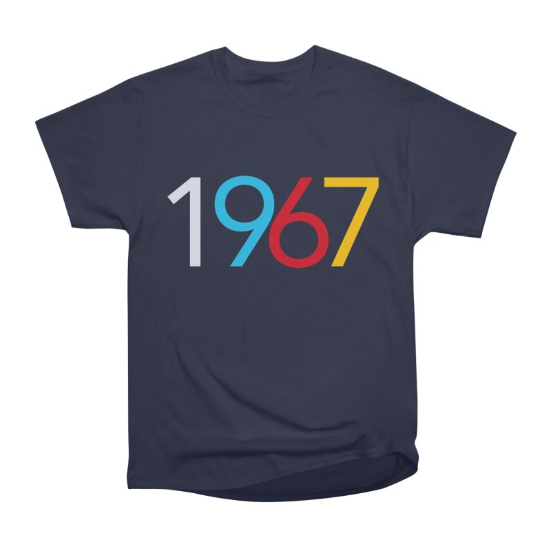 1967 Men's Heavyweight T-Shirt by Nuttshaw Studios