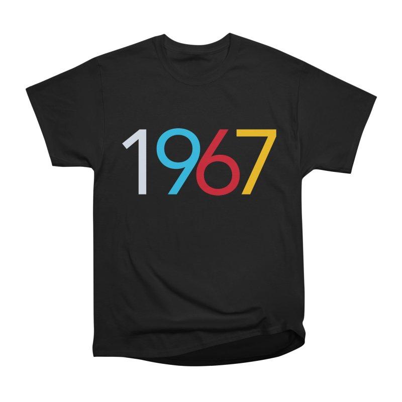 1967 Men's Heavyweight T-Shirt by Nuttshaw Studios