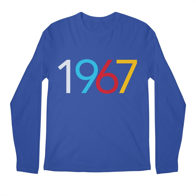 1967 Men's Regular Longsleeve T-Shirt by Nuttshaw Studios