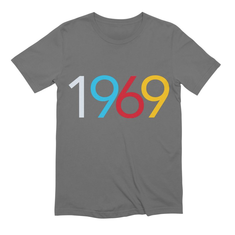 1969 Men's Extra Soft T-Shirt by Nuttshaw Studios