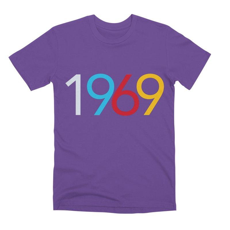 1969 Men's Premium T-Shirt by Nuttshaw Studios