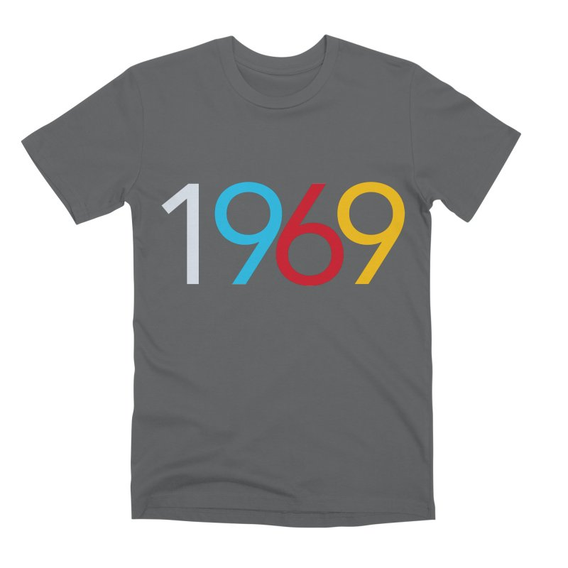 1969 Men's T-Shirt by Nuttshaw Studios