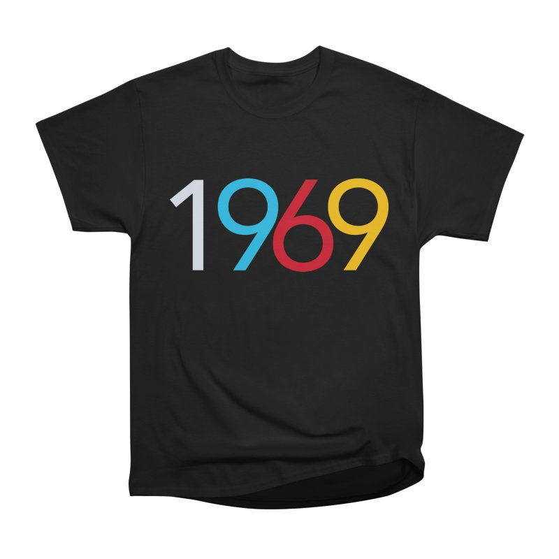 1969 Men's Heavyweight T-Shirt by Nuttshaw Studios