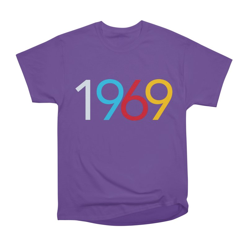 1969 Men's Heavyweight T-Shirt by Nuttshaw Studios
