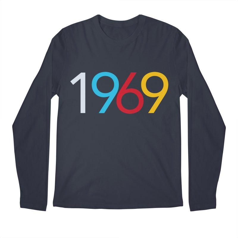 1969 Men's Regular Longsleeve T-Shirt by Nuttshaw Studios