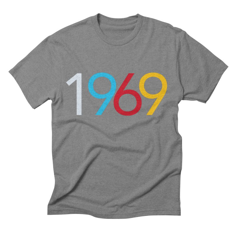 1969 Men's Triblend T-Shirt by Nuttshaw Studios