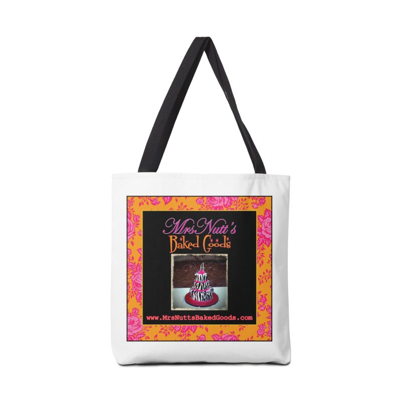 Mrs. Nutt's Baked Goods Accessories Tote Bag Bag by Nuttshaw Studios