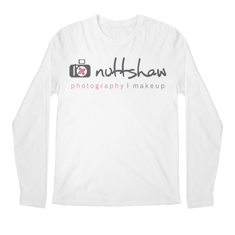Nuttshaw Photography & Makeup Men's Regular Longsleeve T-Shirt by Nuttshaw Studios