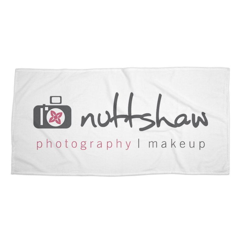 Nuttshaw Photography & Makeup Accessories Beach Towel by Nuttshaw Studios