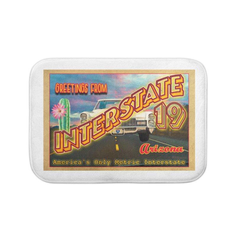Interstate 19 Arizona Home Bath Mat by Nuttshaw Studios