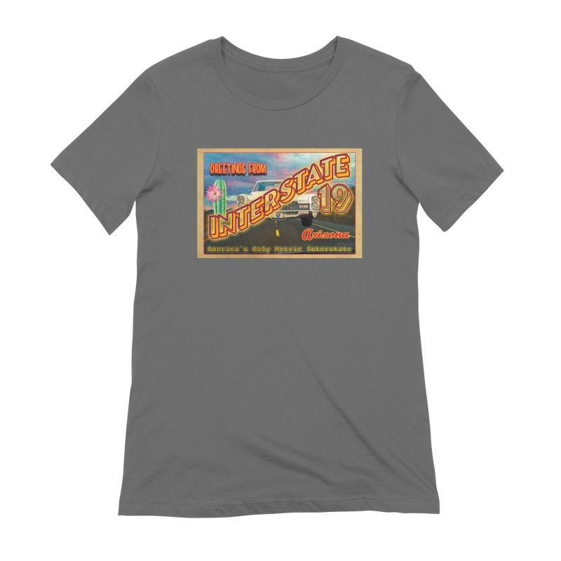 Interstate 19 Arizona Women's T-Shirt by Nuttshaw Studios