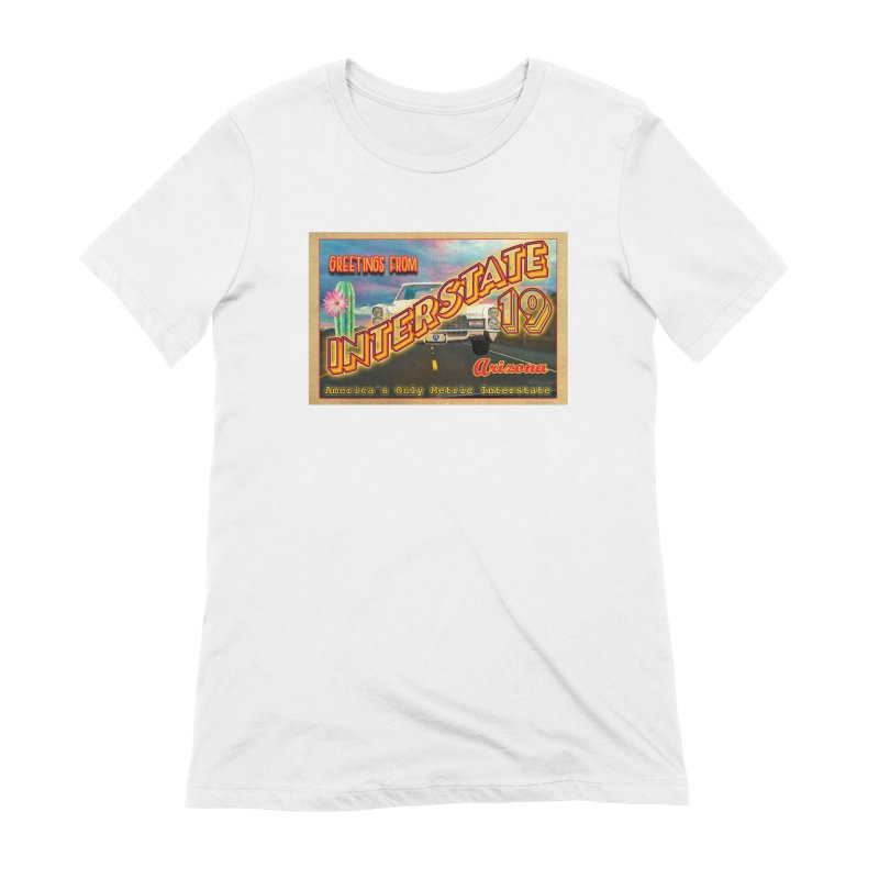 Interstate 19 Arizona Women's Extra Soft T-Shirt by Nuttshaw Studios