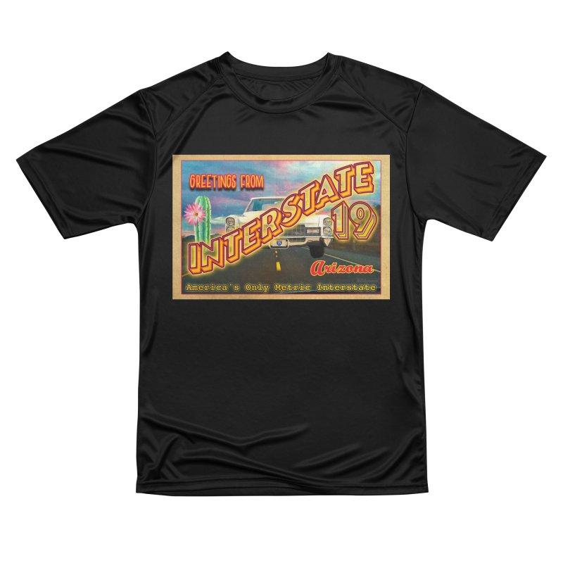 Interstate 19 Arizona Women's Performance Unisex T-Shirt by Nuttshaw Studios