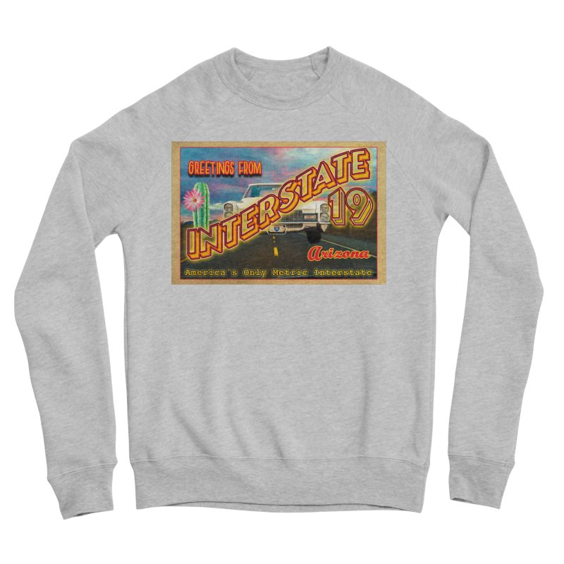 Interstate 19 Arizona Men's Sponge Fleece Sweatshirt by Nuttshaw Studios