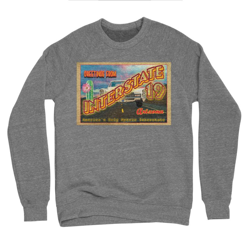 Interstate 19 Arizona Women's Sponge Fleece Sweatshirt by Nuttshaw Studios