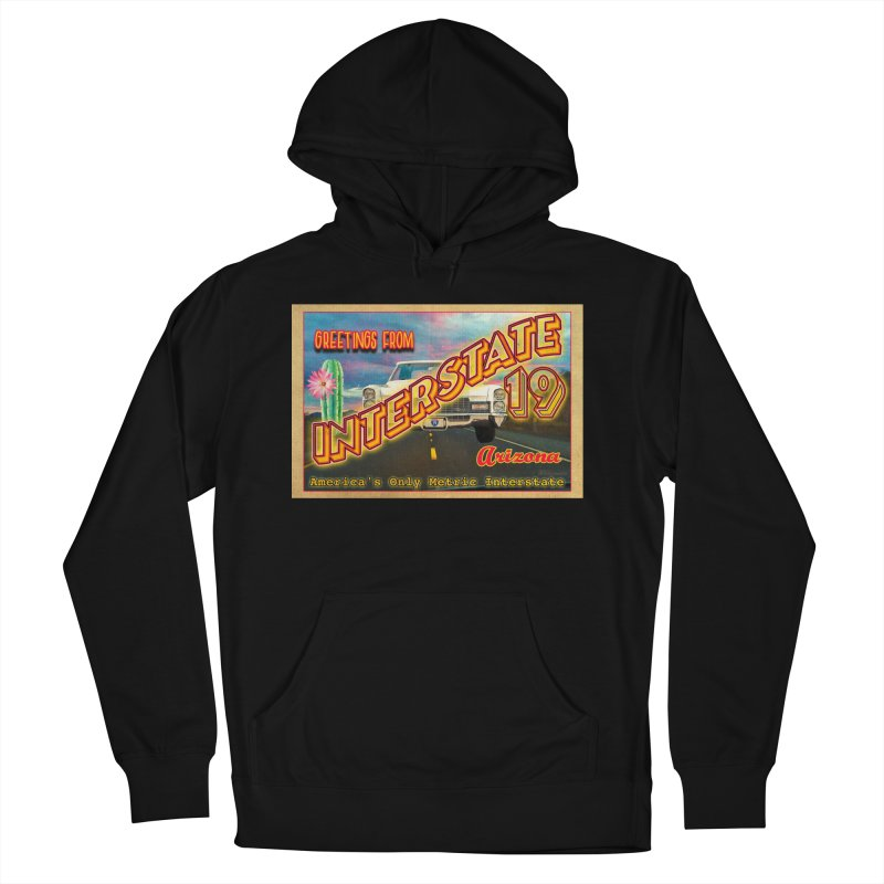 Interstate 19 Arizona Women's French Terry Pullover Hoody by Nuttshaw Studios