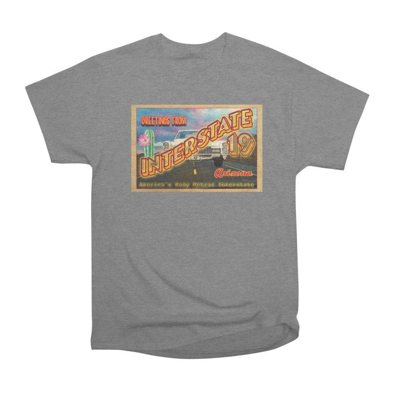 Interstate 19 Arizona Men's T-Shirt by Nuttshaw Studios