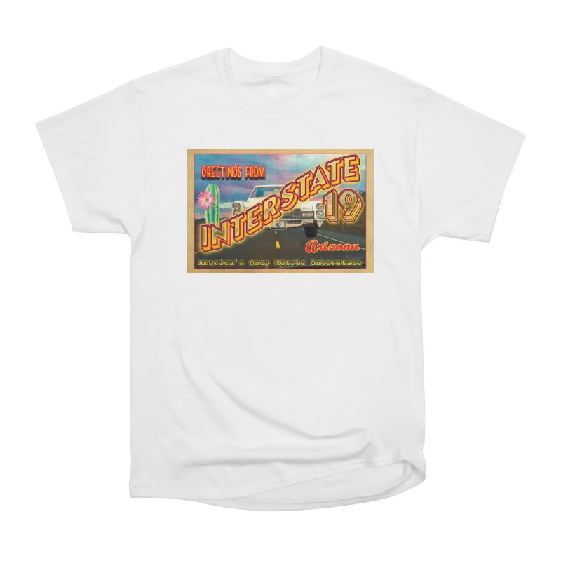 Interstate 19 Arizona Women's Heavyweight Unisex T-Shirt by Nuttshaw Studios