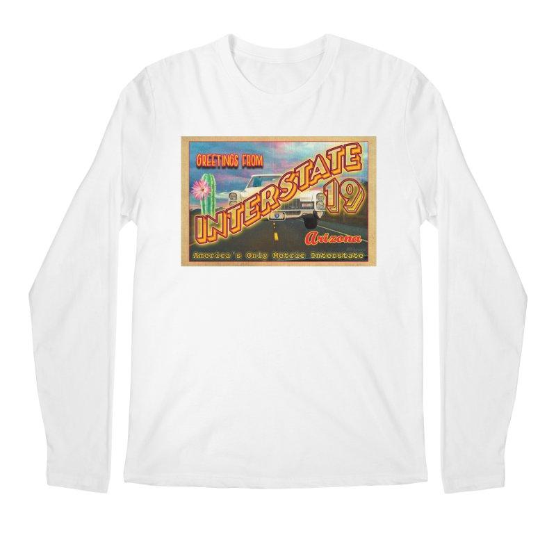 Interstate 19 Arizona Men's Regular Longsleeve T-Shirt by Nuttshaw Studios