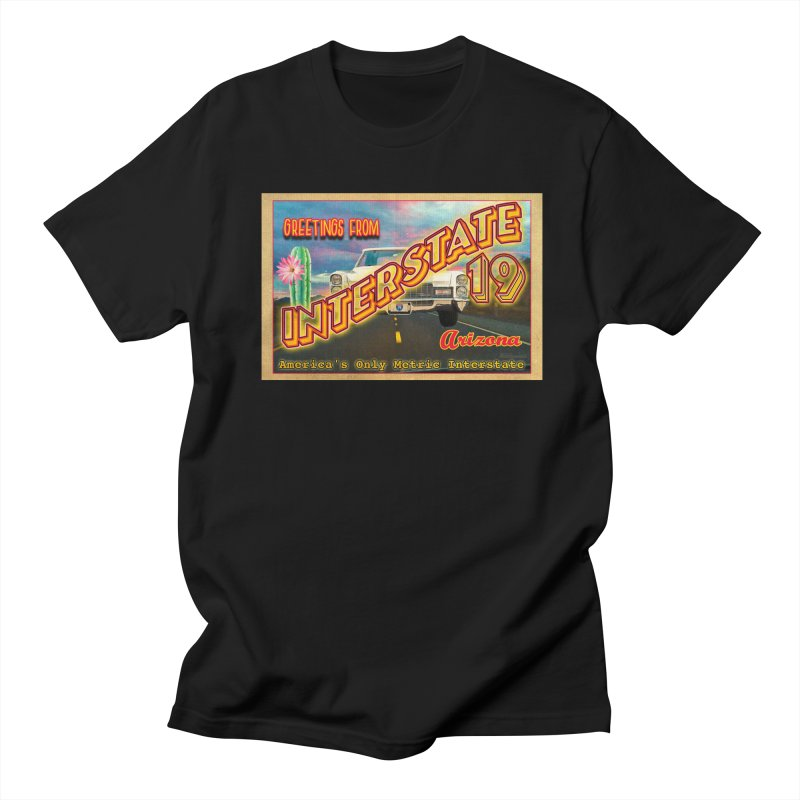 Interstate 19 Arizona Women's Regular Unisex T-Shirt by Nuttshaw Studios