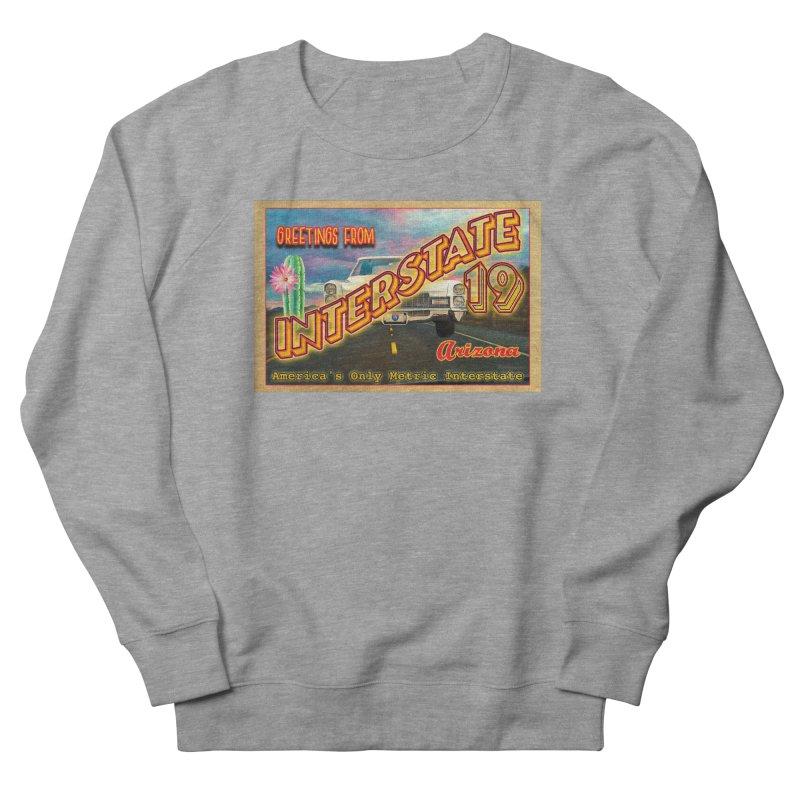Interstate 19 Arizona Women's French Terry Sweatshirt by Nuttshaw Studios