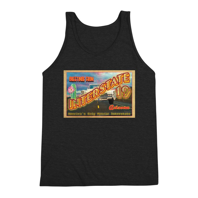Interstate 19 Arizona Men's Tank by Nuttshaw Studios