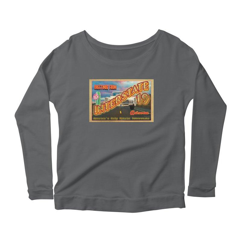Interstate 19 Arizona Women's Longsleeve T-Shirt by Nuttshaw Studios