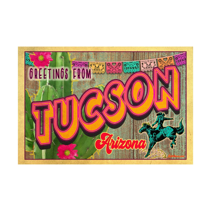 Tucson, Arizona Women's T-Shirt by Nuttshaw Studios