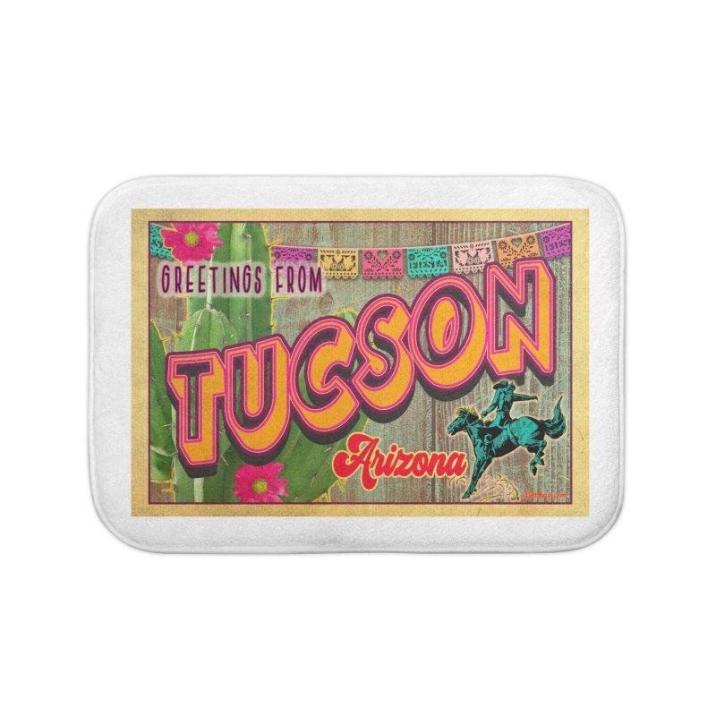 Tucson, Arizona Home Bath Mat by Nuttshaw Studios