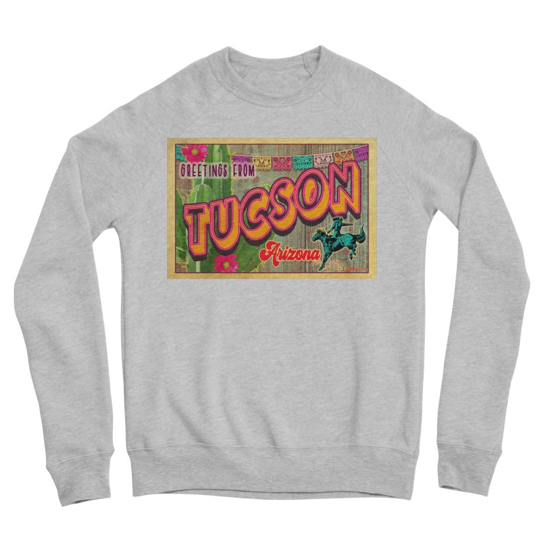 Tucson, Arizona Women's Sponge Fleece Sweatshirt by Nuttshaw Studios